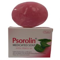 Psorolin Medicated Bathing Soap Bar 75g